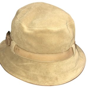 Coach suede bucket styled hat