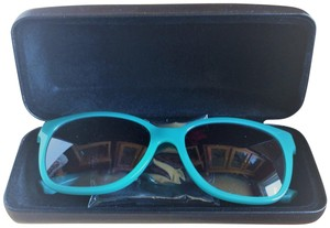 0422abce640 Emporio Armani NEW EA4038 52758G Opal Aqua Green Cat Eye Sunglasses