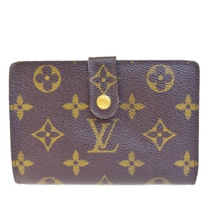 Louis Vuitton LOUIS VUITTON Viennois Bifold Wallet Monogram Brown M61674