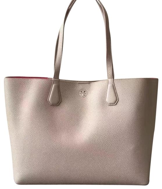 Item - Perry French Gray Leather Tote