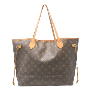 Louis Vuitton Neverfull Mm Handbag Tote in Brown