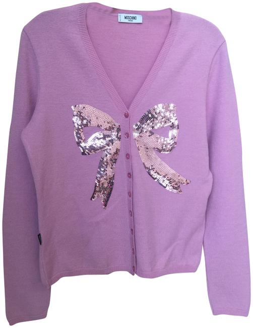 Item - Purple Pink Cute Cardigan Size 12 (L)