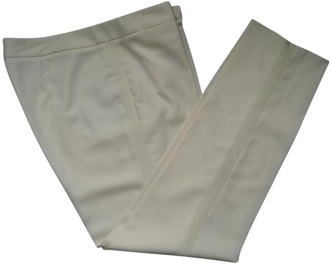 "Item - Ivory Wool ""Signature"" Tuxedo"" Pants Size 10 (M, 31)"