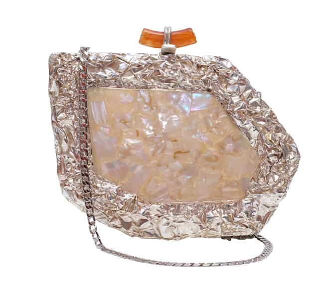 Item - Wedding Evening Formal Cocktail Bridal With Ivory Mother Of Pearl Clutch