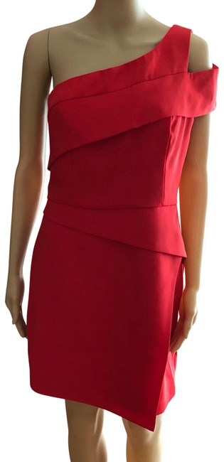 Item - Red Short Casual Dress Size 10 (M)