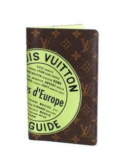 Louis Vuitton Louis Vuitton Cover Villes d'Europe City Guide Notebook Passport