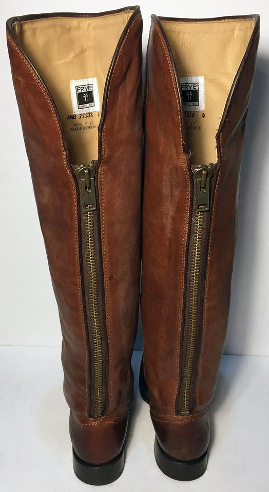 915f16d61344 Frye 77238 Size 6.5 Women Size 6.5 Motorcycle Brown Boots Image 7. 12345678