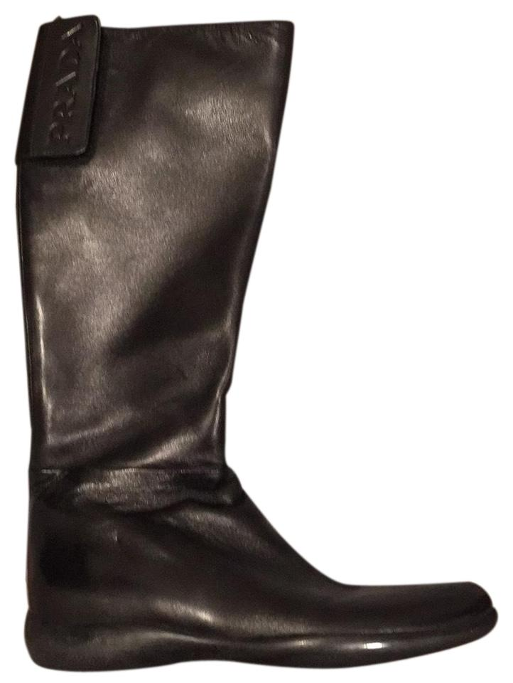 LADY Black Prada Black LADY Linea Rossa Boots/Booties New d6ff8f