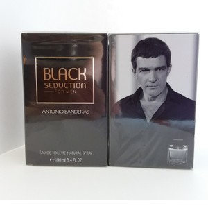 Antonio Banderas BLACK SEDUCTION FOR MEN BY A. BANDERAS-EDT-3.4 OZ-SPAIN