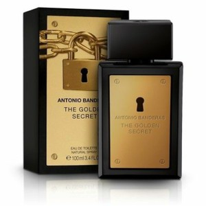Antonio Banderas THE GOLDEN SECRET-A. BANDERAS-MEN-EDT-3.4 OZ-SPAIN
