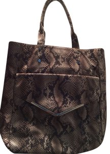 Target Tote in Mixed Snake