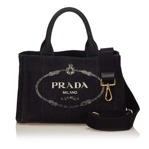 Prada 8dprto006 Satchel in Black