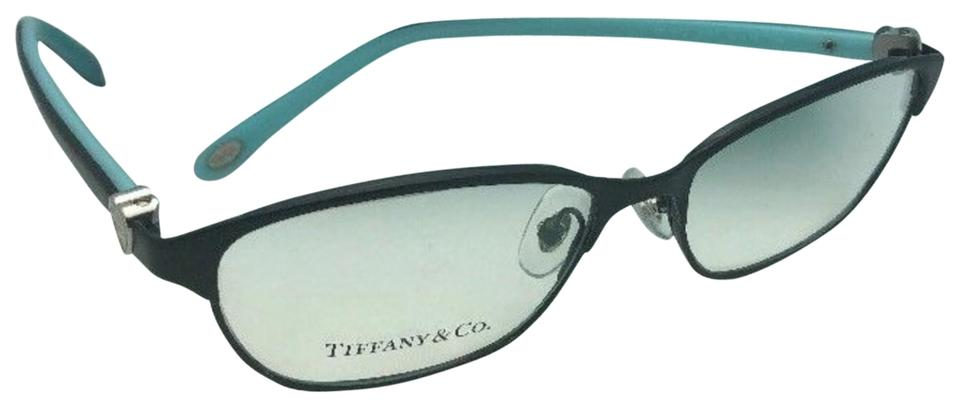 a6adda291039 Tiffany   Co. New Tf 1072 6007 51-15 135 Black Blue W  Silver Hearts Frame  Sunglasses