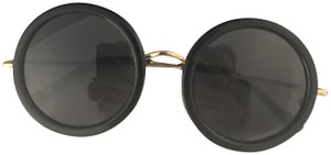 Linda Farrow for The Row LINDA FARROW x THE ROW round Sunglasses