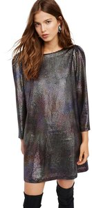 Free People Holographic Dress