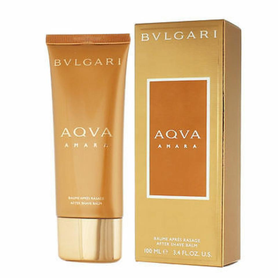 Afholte BVLGARI Aqva Amara For Men-after Shave Balm-3.4 Oz-italy Fragrance FC-53