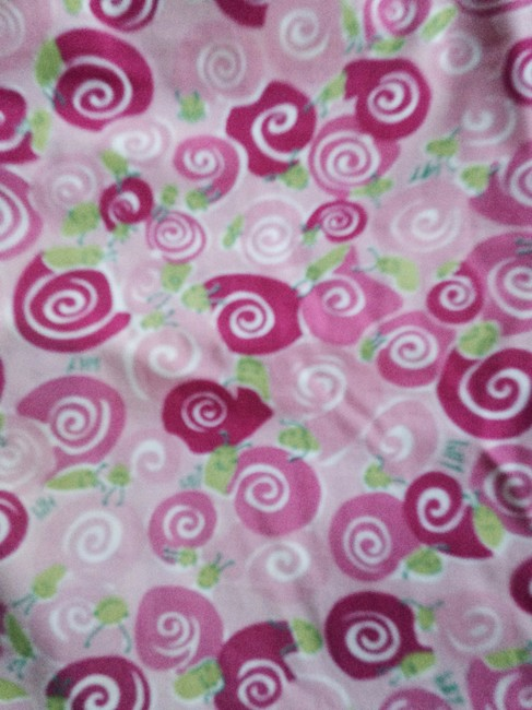 Lilly Pulitzer Designer Summer Casual Above Knee Fun Pattern Vintage Bright Light Knee Length Skrit Above Knee Casual Skirt Pink green white