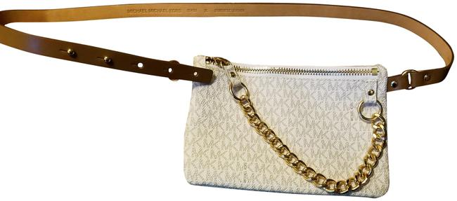 Item - Cream and Brown Fanny Pack