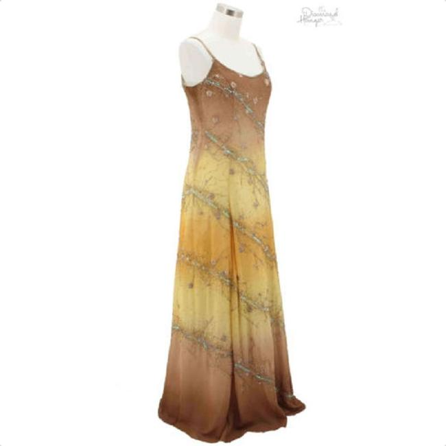 Brown Maxi Dress by Nina Canacci Image 1