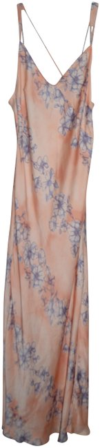 Item - Multi-color Floral Ob571945 Long Casual Maxi Dress Size 12 (L)