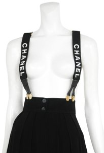 Chanel (ULTRA RARE) CC Logo Suspenders 1CR0606