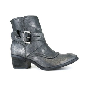 Donald J. Pliner Pewter Brushed Suede Boots