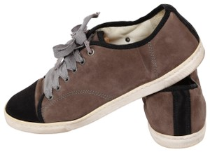 Lanvin Lace Up Brown Athletic
