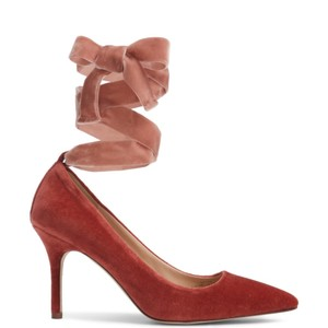 J.Crew rusted red Pumps