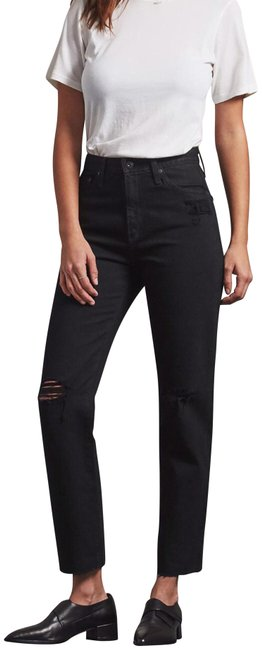 Item - Black Phoebe Relaxed Fit Jeans Size 6 (S, 28)