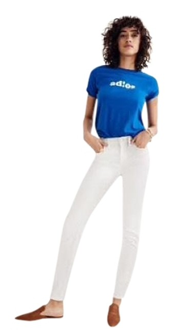 Item - White High Rise Skinny Jeans Size 6 (S, 28)
