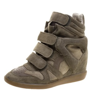 Isabel Marant Green Wedges