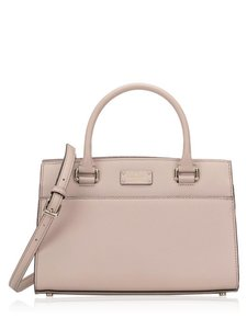 Kate Spade Structured Shoulder Strap Neutral Nude Adjustable Cross Body Bag