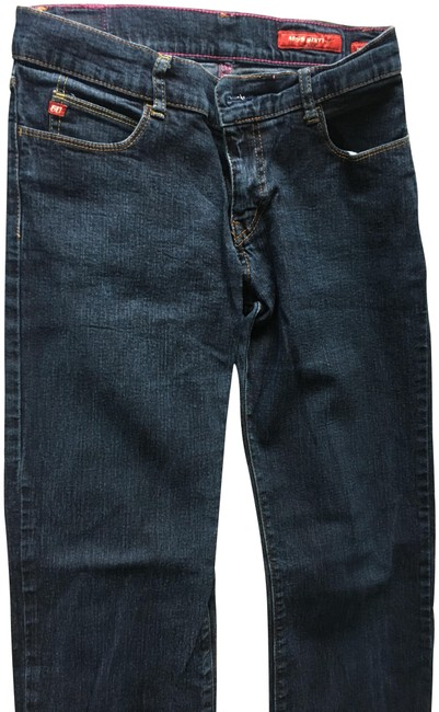 Item - Blue Dark Rinse Tommy One Boot Cut Jeans Size 28 (4, S)