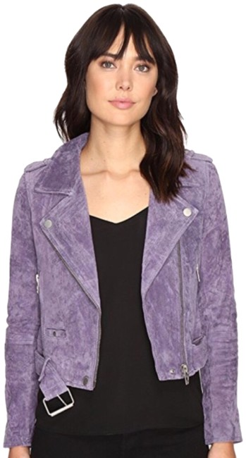Item - Purple Suede Jacket Size 4 (S)