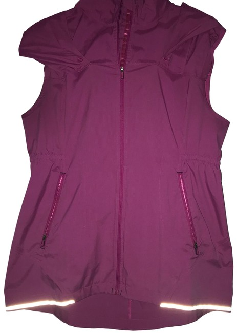 Item - Pink Hooded Activewear Outerwear Size 8 (M)