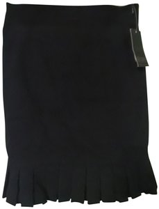 Grass Collection Mini Skirt Black
