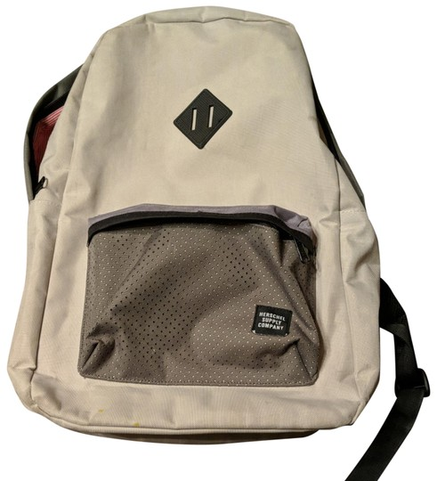 Preload https://img-static.tradesy.com/item/23494732/herschel-supply-co-quality-durable-tan-khaki-and-red-with-white-striped-nylon-backpack-0-1-540-540.jpg