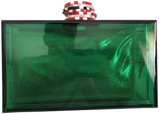 Preload https://img-static.tradesy.com/item/23494869/charlotte-olympia-all-in-pandora-poker-chip-las-vegas-green-perspex-clutch-0-1-540-540.jpg