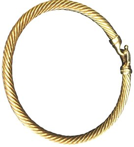 David Yurman 18 k buckle bracelet