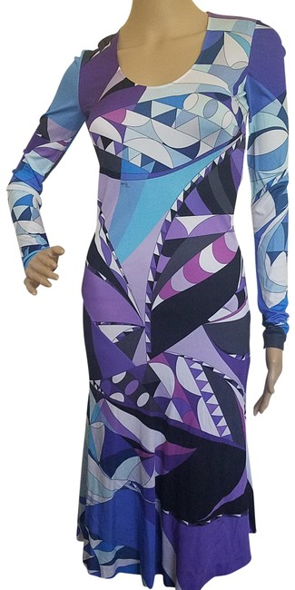 Preload https://img-static.tradesy.com/item/23494921/emilio-pucci-multi-color-purple-blue-long-sleeve-mid-length-cocktail-dress-size-4-s-0-1-650-650.jpg