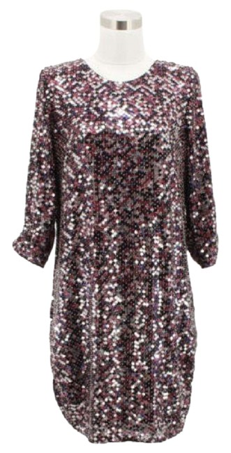 Preload https://img-static.tradesy.com/item/23494966/parker-maroon-a13-designer-full-sleeve-stone-mid-length-short-casual-dress-size-4-s-0-1-650-650.jpg