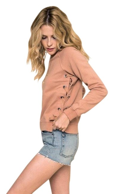 Preload https://img-static.tradesy.com/item/23495166/sincerely-jules-blush-lace-up-sides-sweatshirthoodie-size-16-xl-plus-0x-0-1-650-650.jpg