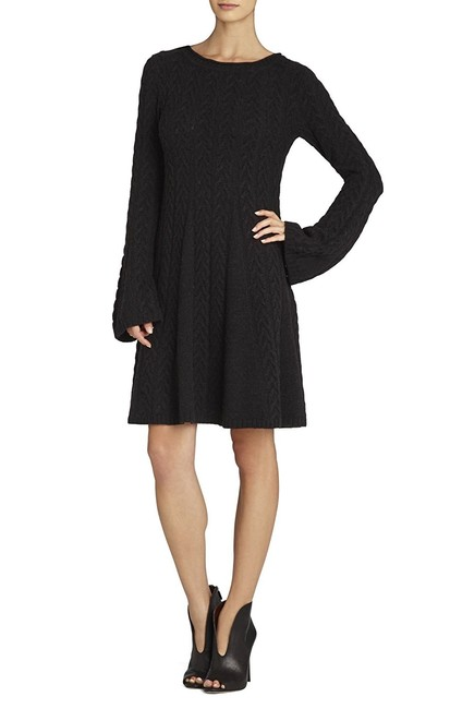 Preload https://img-static.tradesy.com/item/23495207/bcbgmaxazria-black-bcbg-hoshi-cabled-pullover-tunic-short-casual-maxi-dress-size-2-xs-0-0-650-650.jpg