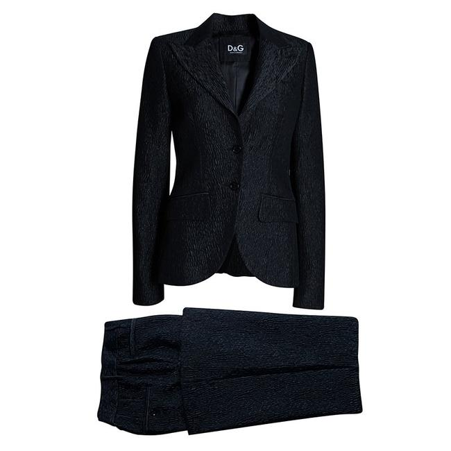 Preload https://img-static.tradesy.com/item/23495258/dolce-and-gabbana-grey-charcoal-pant-suit-size-8-m-0-0-650-650.jpg