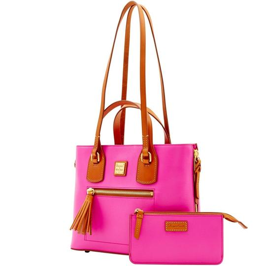 Dooney & Bourke Satchel in Fuchsia