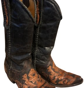 Old Gringo black, brown and tan Boots