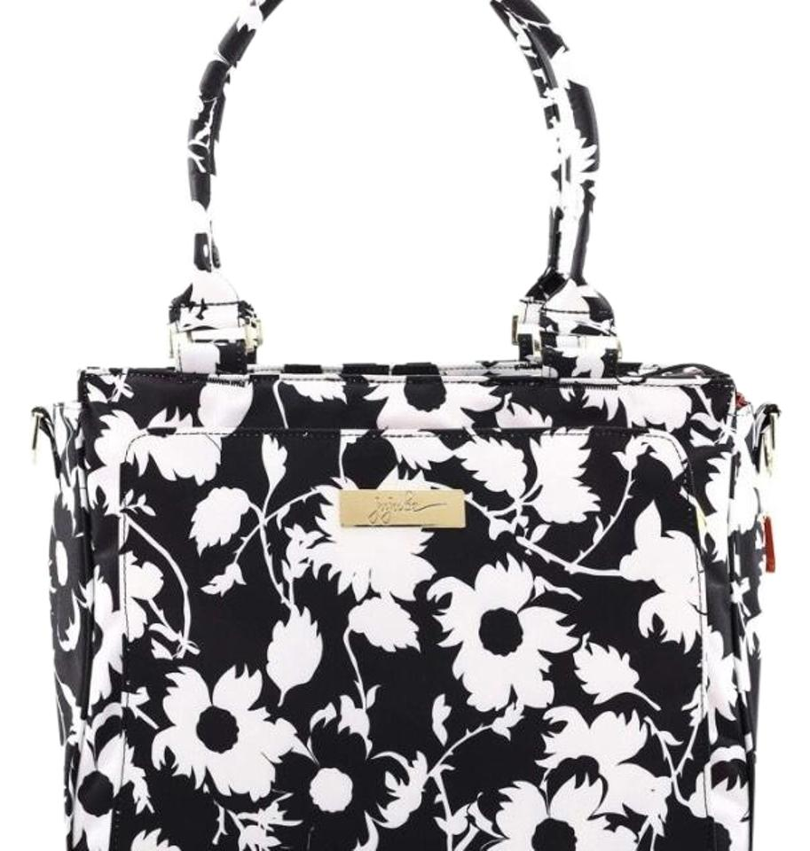 Jujube black and white diaper bag image 0