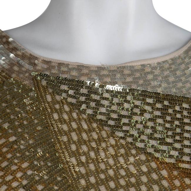 Emilio Pucci short dress Gold on Tradesy