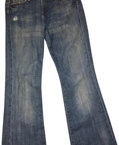7 For All Mankind Straight Leg Jeans-Acid