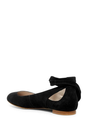 Kenneth Cole Suede Black Flats